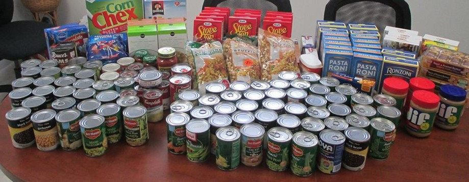 Food drive for MICF