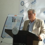 "Efrem ""Skip"" Zimbalist III, CEO of Show Management, explains show changes at Miami Beach City Hall Dec. 9. PHOTO/DORIE COX"
