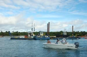 Waterway dredging underway in Palm Beach, more on schedule