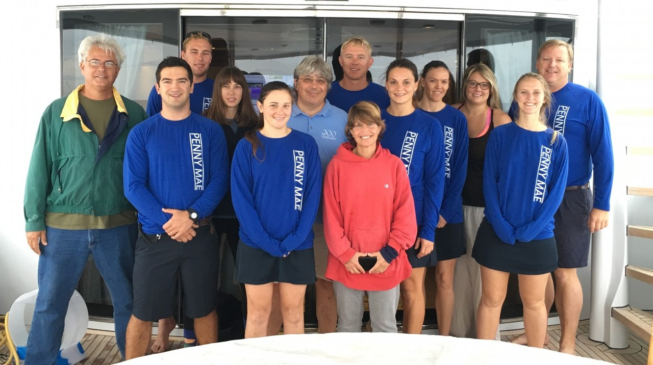 Penny Mae crew and UF scientists make one expert research team.