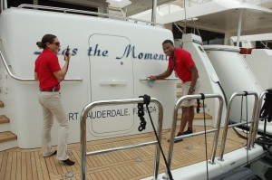Yachts Miami Beach warms up on opening day