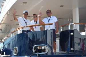 Triton Today Survey video: Crew tell how they keep fit onboard