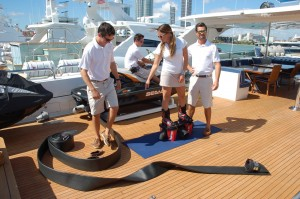 "Video: Yacht Crew ""Show and Tell"" at Yachts Miami Beach show"