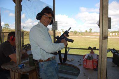 Triton Field Trip: Captains shoot their way through day at the gun range