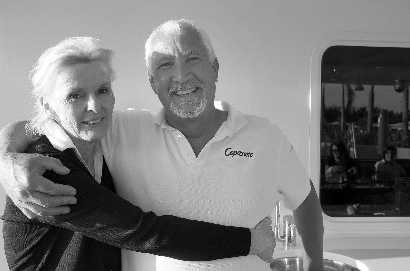"""M/Y Copasetic Capt. Ian Van der Watt and his wife Cici have been traveling the world and working together on yachts for 26 years. The secret to their success is """"Listening to each other."""""""