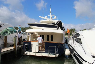 Transportation details to Yachts Miami and Miami International boat shows
