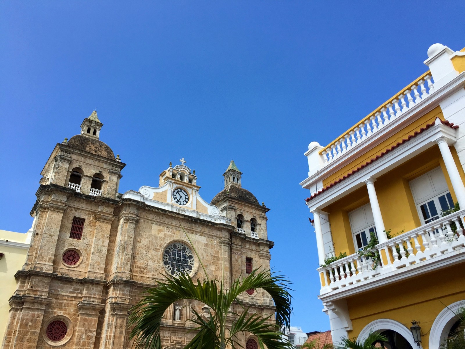 Colorful and historic, the architecture in the Old City of Colombia makes for an interesting side trip for crew and guests. PHOTO PROVIDED