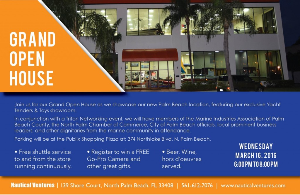 NV Grand Open House Flyer