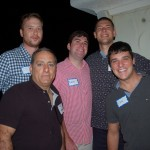Triton networks with Denison Yacht Crew