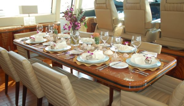 Table design, setting key to creating mood for dining