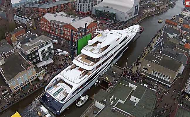 M/Y Symphony, a 101m Feadship is on a finalists for World Superyacht Awards. Photo provided