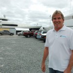 Buddy Haack at Taylor Lane Yacht and Ship. Photo by Dorie Cox