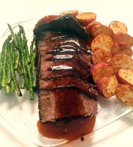 Rump Roast with Dark Rum Sauce satisfies crew