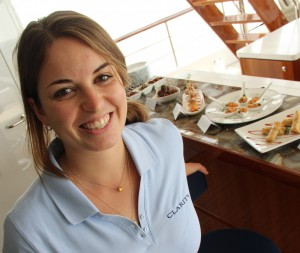 Chef makes healthy eating top priority for crew and guests