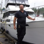 Ucluelet's Harbor Master, Kevin Cortes, says the town's marina is the west coast of Vancouver Island's most comprehensive marina facility. PHOTO/Peter Gardner