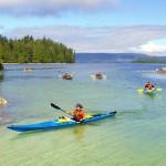 Majestic Ocean Kayaking offers guided tours in Broken Group Islands near Ucluelet. PHOTO/Majestic Ocean Kayaking