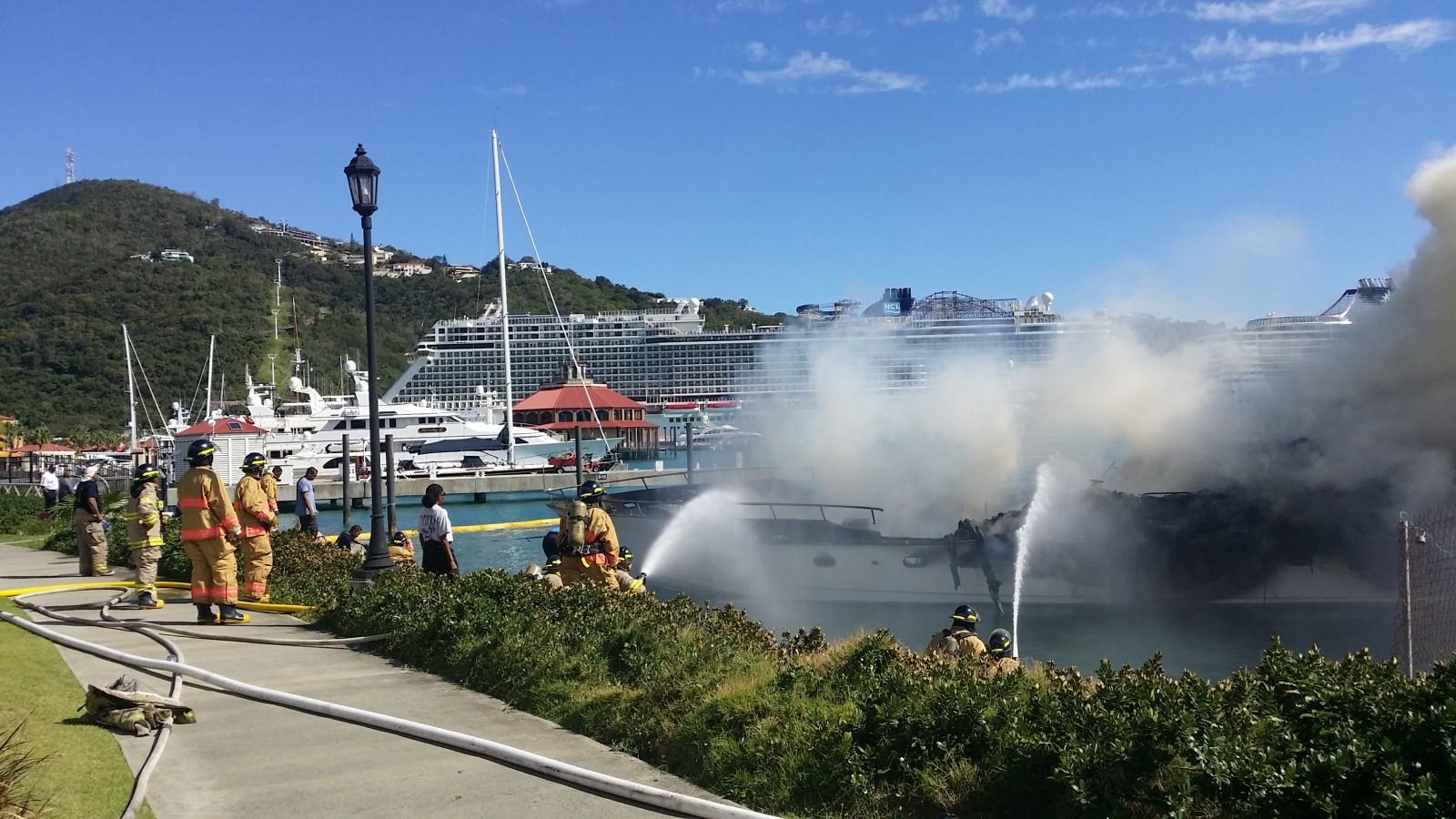 Yacht Haven Grande fire Dean Barnes photo credit (3)