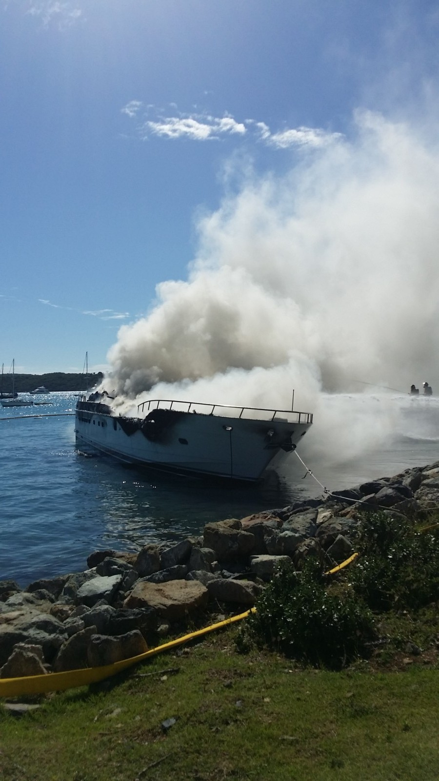 Yacht Haven Grande fire Dean Barnes photo credit (7)