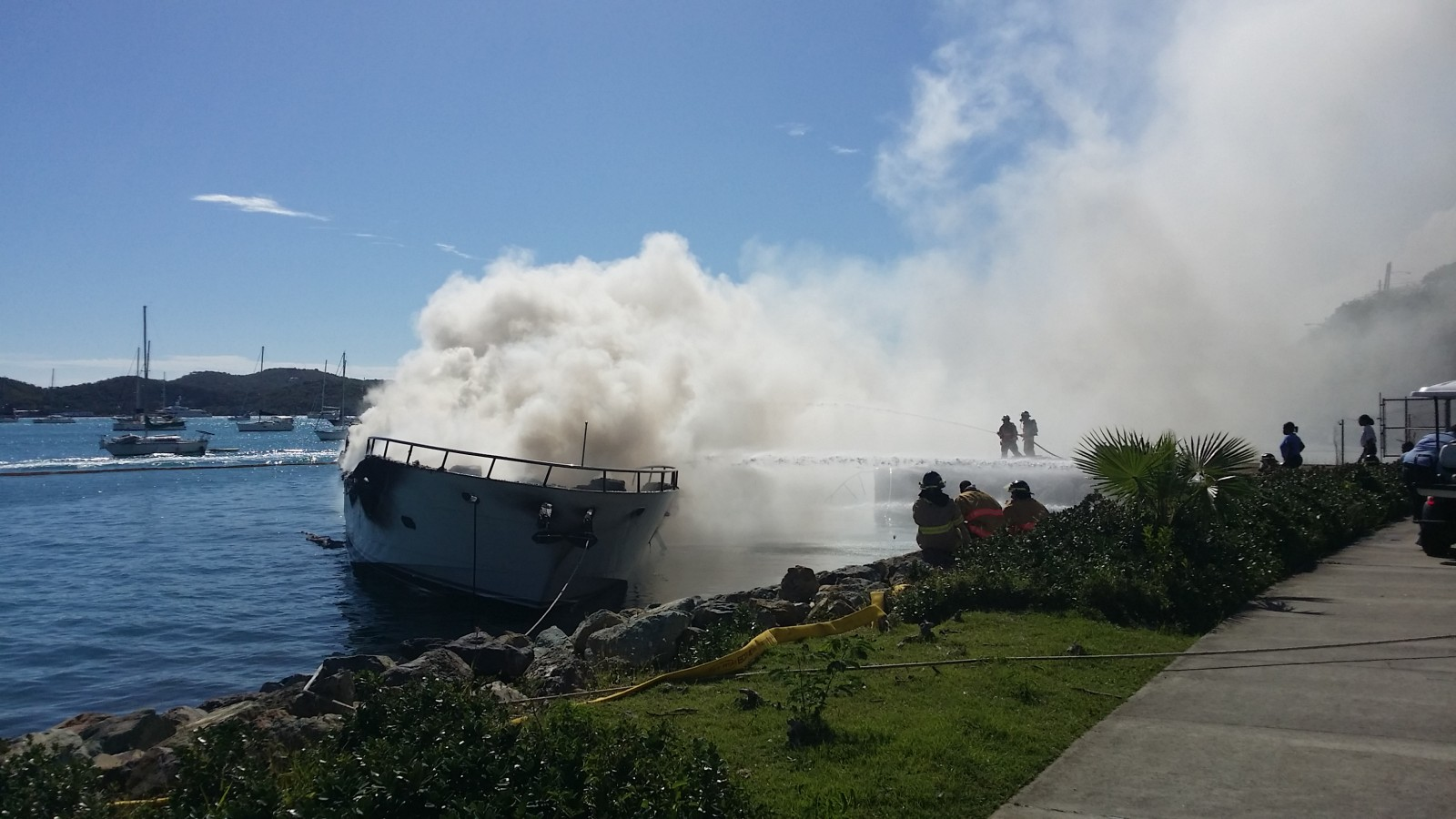 Yacht Haven Grande fire Dean Barnes photo credit (9)