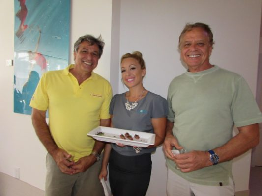 Yacht captains and crew relax at marina spa