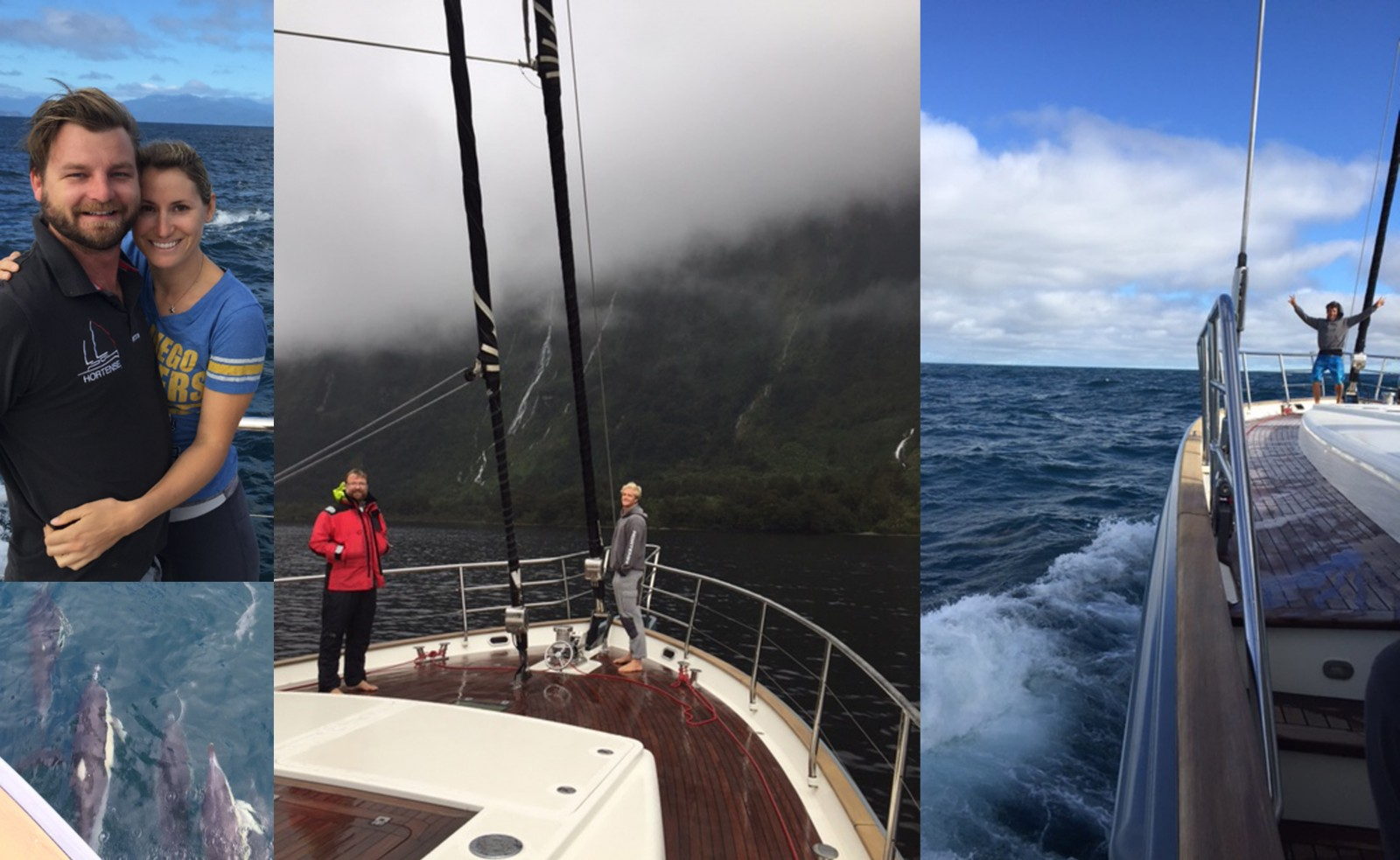 News from S/Y Hortense.