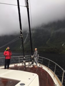 S/Y Hortense headed to Fiordlands