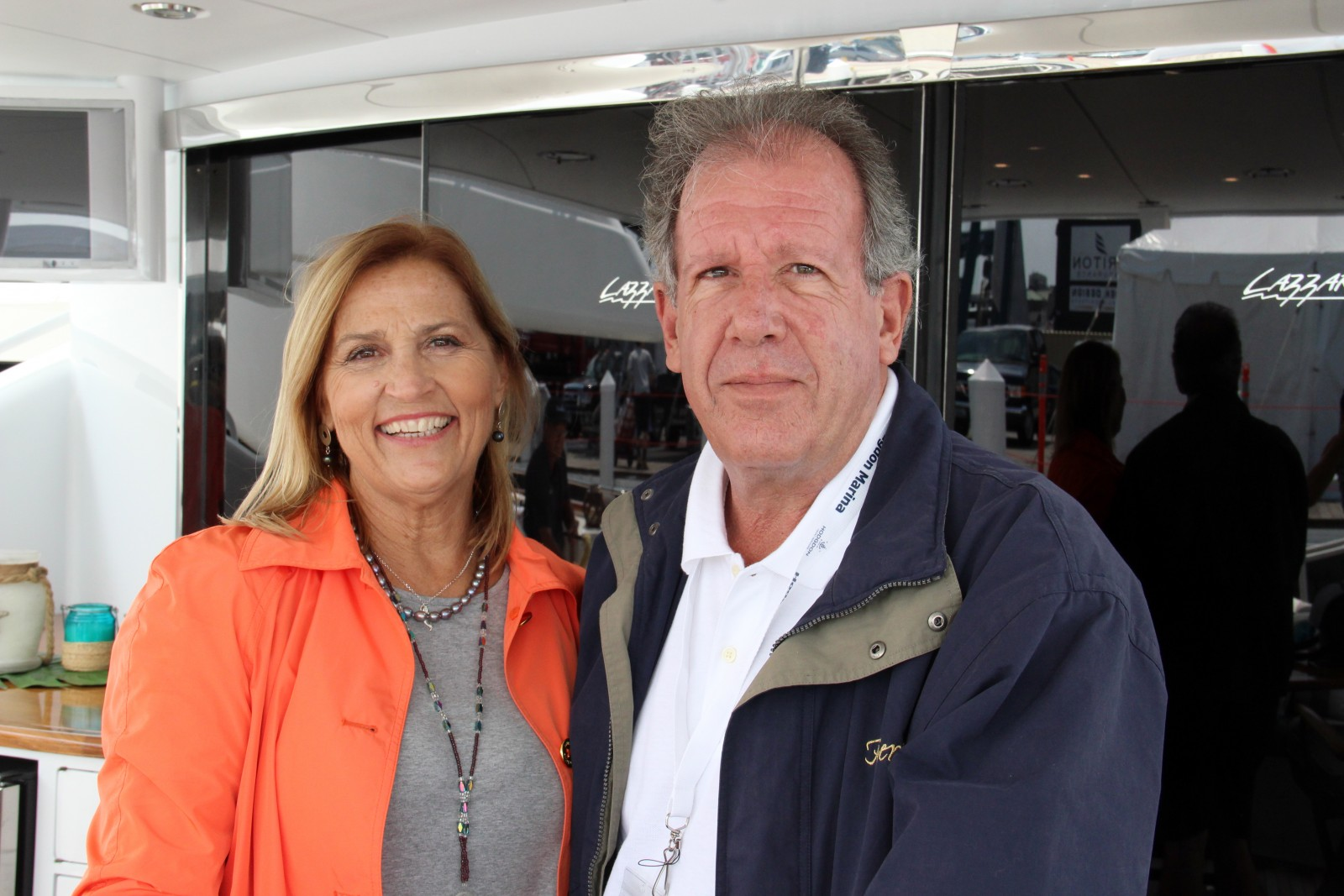 Patti Trusel and Len Garofoli have launched the charter division at Pier One Yacht Sales in Florida. PHOTO/SUZETTE COOK
