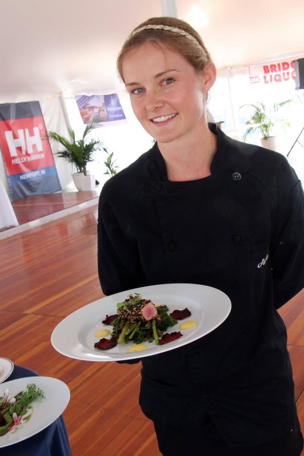 M/Y Reflection Chef Christy Demptser created a Paleo dish.