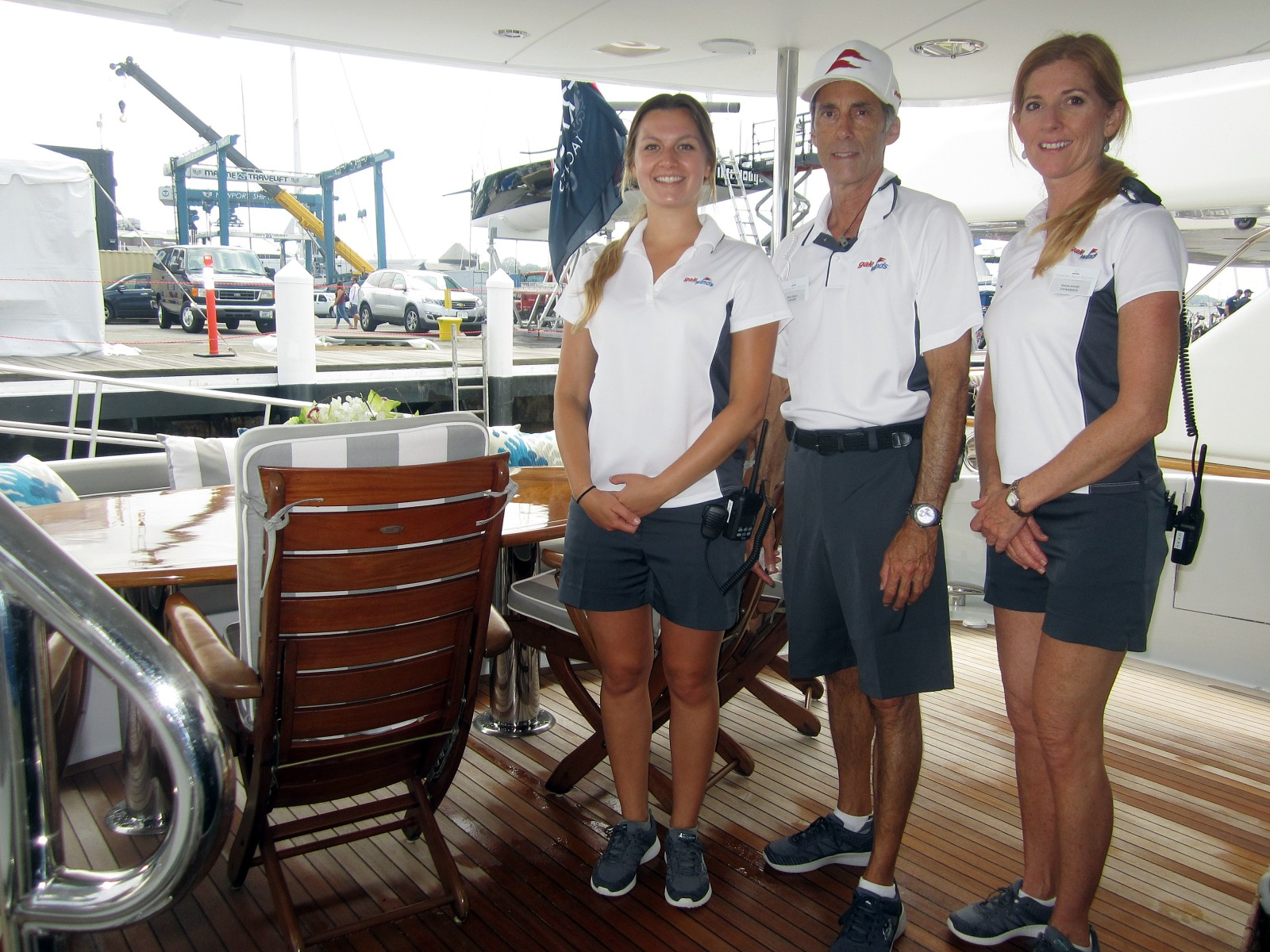 CREW on opening day in Newport