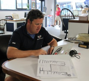 Newport Shipyard General Manager Eli DYana has worked at NS since 2003