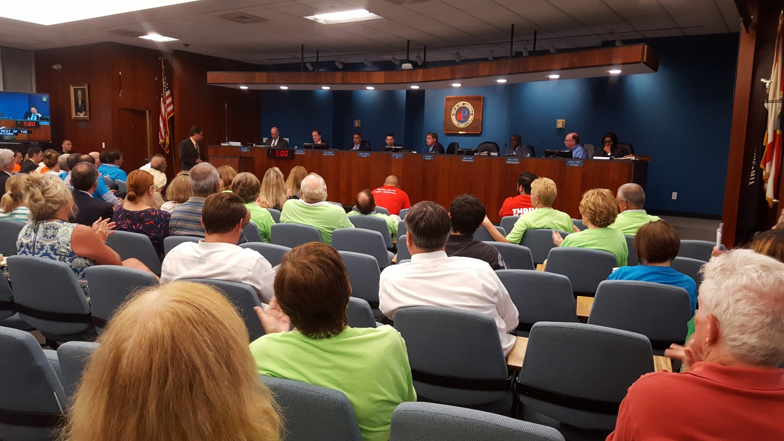 MARINAS city commission 6-7-16 android dc panel crowd