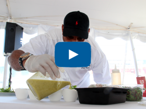 Video – Chef competition heats up at Newport Charter Yacht Show