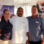 M/Y Siete Chef Craig Rosado and Chief Stew Mica Stratula won best chef and best tablescaping honors atthe Newport Charter Yacht Show. (PHOTO/SUZETTE COOK)