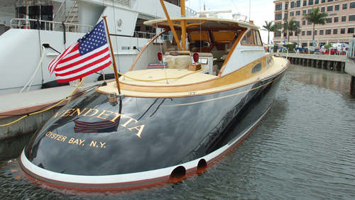 stock PBIBS dc boat US flag