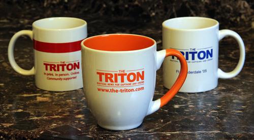 stock Three Triton mugs