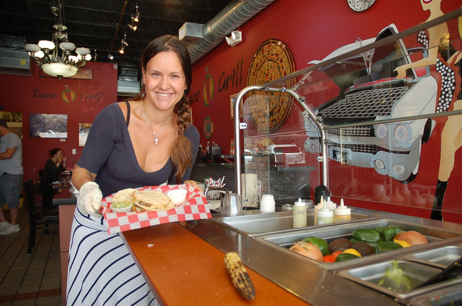 Chef Adora Wisdom continues to work on yachts while owning and running her Ft. Lauderdale restaurant, Taco Grill. PHOTO BY DORIE COX