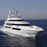 FB 264 is a four-deck 63.5m yacht.