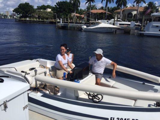 Megayacht fleet tackles training to build team