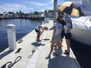 FLIBS17: Owner honors crew's role in life of a happy ship