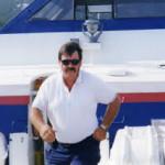 Capt. Hartman in front of Virgin Hydrofoil Katrin II in St. Thomas, USVI. PHOTO PROVIDED