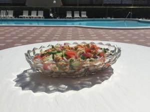 Cucumber and Rotini Pasta Salad
