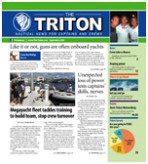 The Triton's 150th issue hits the yacht docks for captains and crew