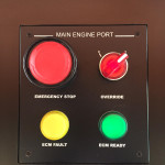 Buttons on yacht