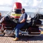 Capt. Hartman in Key West. PHOTO PROVIDED