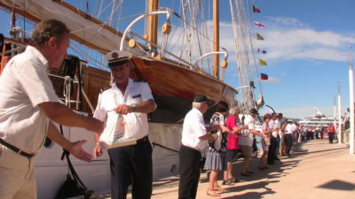 Yacht crew, mariners donate food for 16th Yachts du Coeur in Cannes