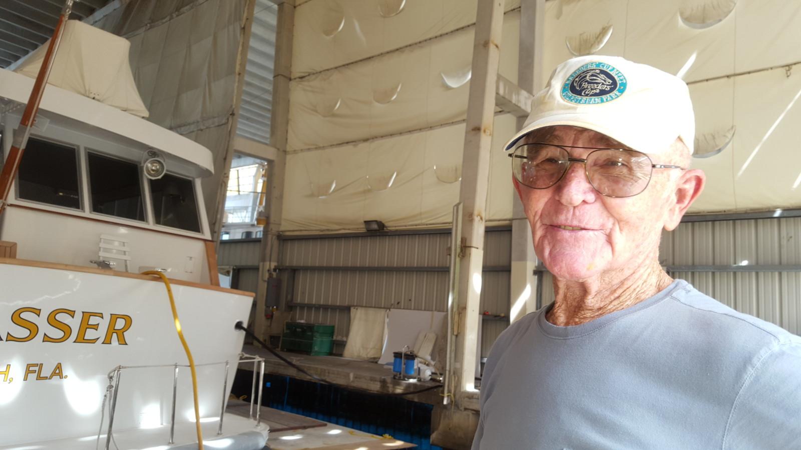 Capt. Larry Hastings. PHOTO/DORIE COX