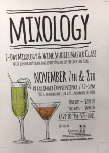 Culinary Convenience Mixology