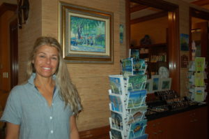 Chef's art graces FLIBS program