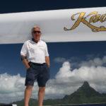 Capt. Johan Raubenheimer of S/Y Kaori, died in Utah on Aug. 19.