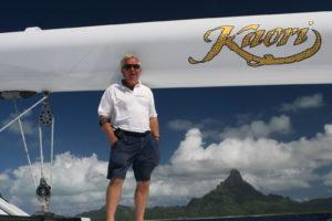 Capt. Raubenheimer of S/Y Kaori dies
